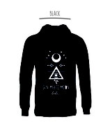 Sun Meets Moon Tribe Unisex Hoodie - pre-ordering necessary