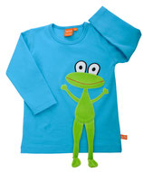 Lipfish Langarmshirt Turquoise Frog Gr. 122