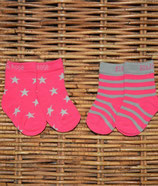 Blade & Rose Socken Stars pink