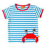 Lipfish T-Shirt Blue/White Crab