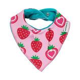 Maxomorra bib dribble triangel Strawberry