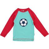 Maxomorra Shirt LS Football Gr. 110/116