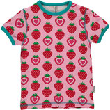 Maxomorra Top SS Strawberry gr.92