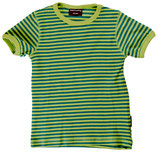 Sale! 50 % Maxomorra Kurzarmshirt green  stripes Gr. 80