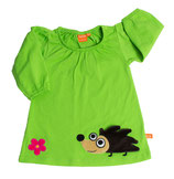 Lipfish Dress Hedgehog green