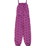 Maxomorra Jumpsuit Cat purple