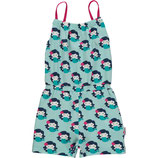 Maxomorra Jumpsuit Short Mermaid