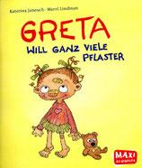 Buch: Greta will ganz viele Pflaster