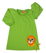 Lipfish Dress Lion leaf green langarm
