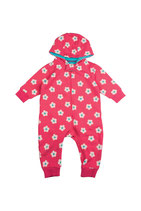SALE 50 % Frugt Snuggle Suit Raspberry Daisy spot