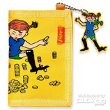 Pippi Geldbörse gelb