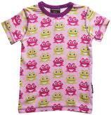 Sale 50%! Maxomorra Kurzarmshirt  Frogs pink Gr. 50/56