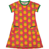 Maxomorra Dress SS Pineapple