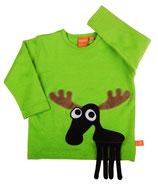Lipfish Shirt LS Moose leaf green