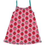 Maxomorra Spaghetti Dress Strawberry