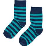 Sale! 30 % Maxomorra Socken 2er-Pack dark blue/Turquoise