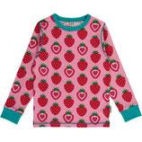 Maxomorra Top LS Strawberry