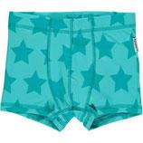 Maxomorra Boxer Shorts Stars Turquoise gr. 86/92