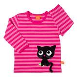 Lipfish Langarmshirt Cerise/Pink Kitten