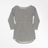 Atracktion: Aura Dress Antique White Split Striped