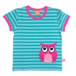 Lipfish T-Shirt aqua striped Owl