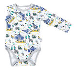 Martinex Moomin Circus Body LS White/blue
