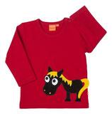 Lipfish Shirt LS Horse red