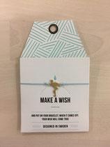 mint - Make a Wish Flamingo bracelet türkis