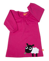 Lipfish Dress Sheep cerise langarm