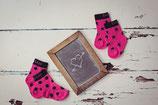 Blade & Rose Socken Hot pink & black Gr. 2-4 Jahre