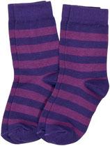 Sale! 30 % Maxomorra Socken 2er-Pack purple-dark purple Gr. 22/24