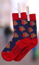 Fräulein Prusselise Socken Rotkehlchen