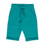 Maxomorra Sweatshorts Knee Turquoise gr.92