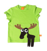 Sale! 30 % Lipfish T-Shirt Moose leaf green