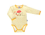 Martinex Moomin Flowers Body LS Yellow