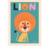 """OMM-Design Poster """"Lion"""""""