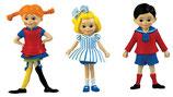 Pippi, Tommy und Annika