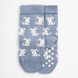 Bulussocks Dog Socken light blue gr.19-22