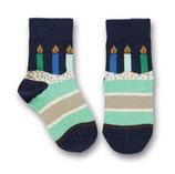 Ubang Socken Birthday Talkie-Walkie navy Gr. 18-20