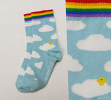Fräulein Prusselise Socken wolke blau Gr. 19-22