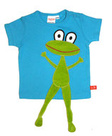 Lipfish T-Shirt Turquoise Frog Gr. 86/92