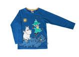 Martinex Mumin Jumping Shirt LS Blue