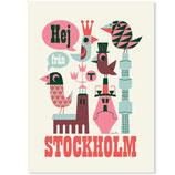 Omm-design Poster Stockholm