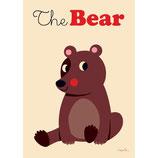 Omm-design Poster Brown Bear