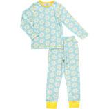 Maxomorra Pyjama Set LS Flower