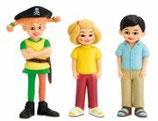 Piraten-Pippi, Tommy und Annika