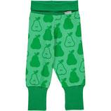 Maxomorra Ribpants Pears Green Gr. 110/116