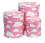 Färg & Form Pappbehälter Moln/Wolke rosa