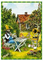 Pettersson im Garten Puzzle 104 Teile