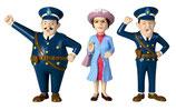 Polizisten und Prusseliese